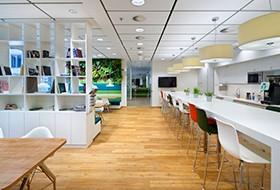 Thiết kế không gian relax CBRE