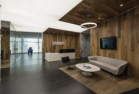 Thiết kế lễ tân văn phòng Coldwell Banker