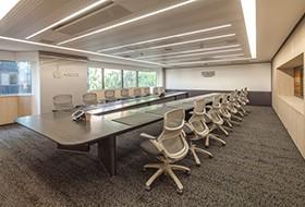 Thiết kế nội thất phòng họp văn phòng Groupo Argos