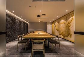 Thiết kế nội thất phòng họp văn phòng OU ALLIN