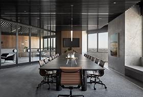 Thiết kế nội thất phòng họp văn phòng PDG