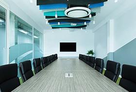 Thiết kế nội thất phòng họp văn phòng Skildare