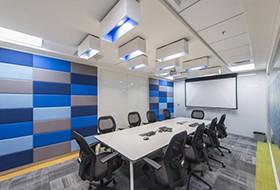 Thiết kế nội thất phòng họp văn phòng Tangoe