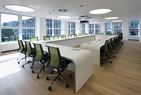 Thiết kế nội thất phòng họp văn phòng Teva