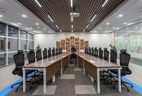 Thiết kế nội thất phòng họp văn phòng Trelleborg