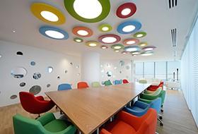 Thiết kế nội thất phòng họp văn phòng Viola