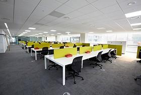 Thiết kế nội thất văn phòng làm việc công ty Gabia New