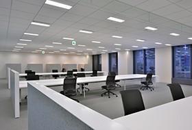 Thiết kế thi công nội thất văn phòng công ty HDI