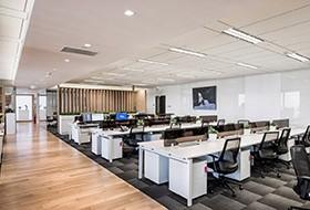 Thiết kế thi công nội thất văn phòng Linmon Pictures