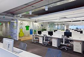 Thiết kế thi công nội thất văn phòng làm việc Mercado Libre