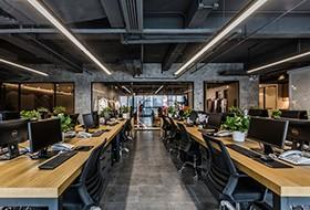 Thiết kế thi công nội thất văn phòng công ty Ou Allin