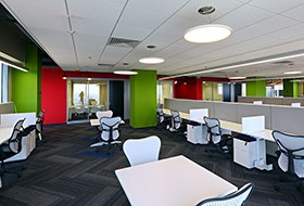 Thiết kế thi công nội thất văn phòng Informatica
