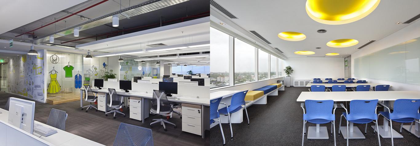 Slide Văn phòng làm việc đẹp